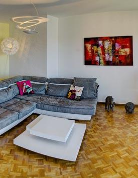 Möblierte 4-Zimmerwohnung in Versoix - Wohnen auf Zeit