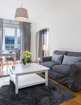 Möblierte 1-Zimmerwohnung in Genf