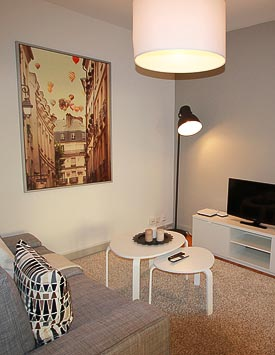Furnished 2 BR Flat in Geneva Charmilles