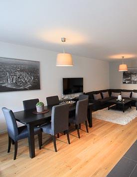 Möblierte 4-Zimmerwohnung in Genf - Wohnen auf Zeit