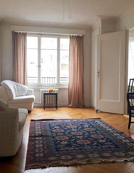 Furnished studio Flat in Geneva