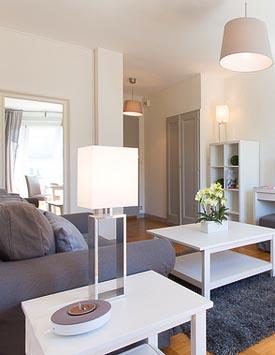 Möblierte 3-Zimmerwohnung in Genf