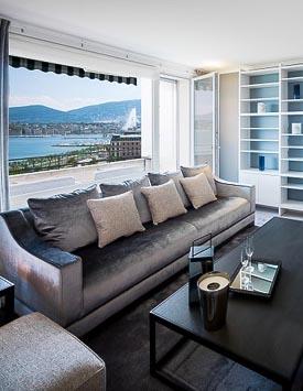 Möblierte 6-Zimmerwohnung in Genf - Wohnen auf Zeit