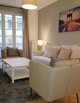 Möblierte 2-Zimmerwohnung in Genf - Wohnen auf Zeit