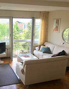 Furnished 1½ BR Flat in Geneva