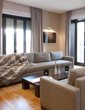 Furnished 3 BR flat in Quai du Mont-Blanc