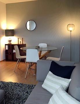 Furnished 1 BR Flat in Nyon