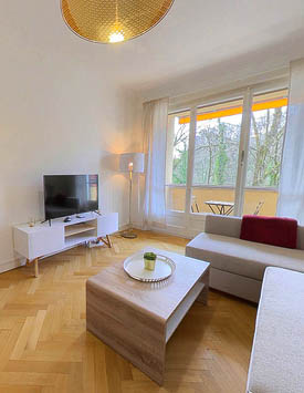 Rental Furnished 4 BR Flat in Versoix from CHF 196.00 per night